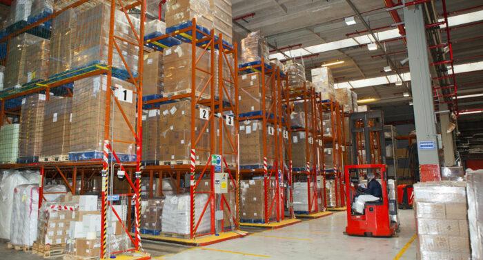 warehouseforkligt